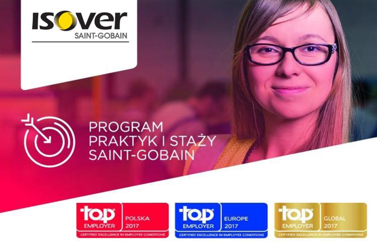 Ruszył program praktyk i staży w Saint-Gobain