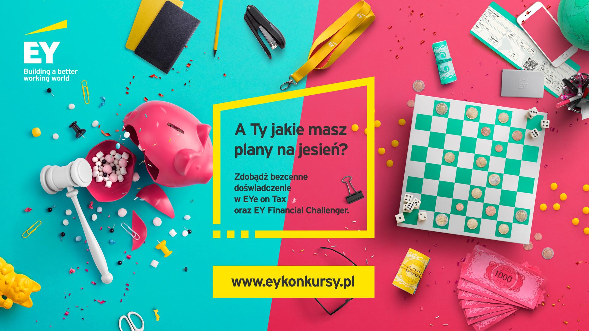 Nowe edycje konkursów studenckich EY na nowy rok akademicki