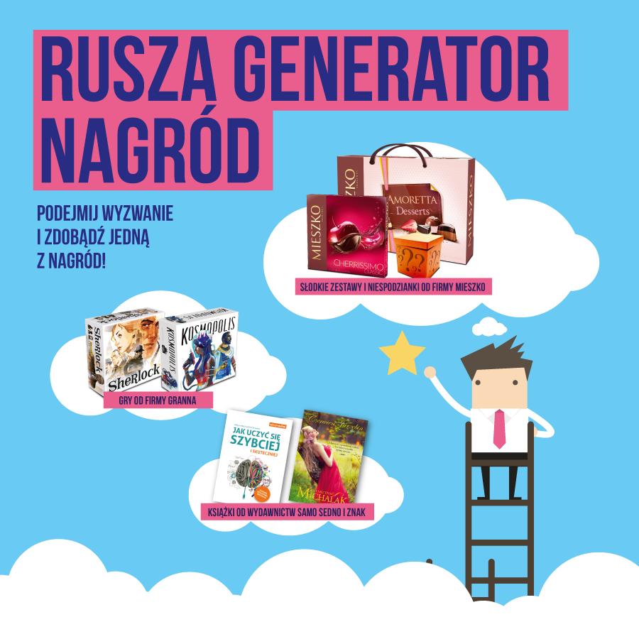 Rusza studencki generator nagród! Podejmij wyzwanie!