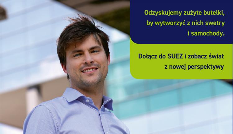 Dołącz do SUEZ i zobacz świat z nowej perspektywy!