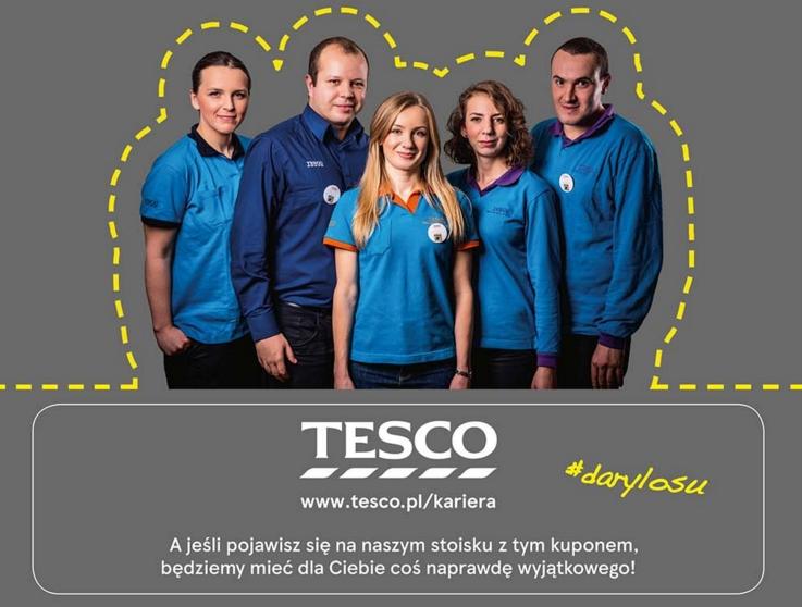 Odbierz niespodziankę od firmy Tesco!