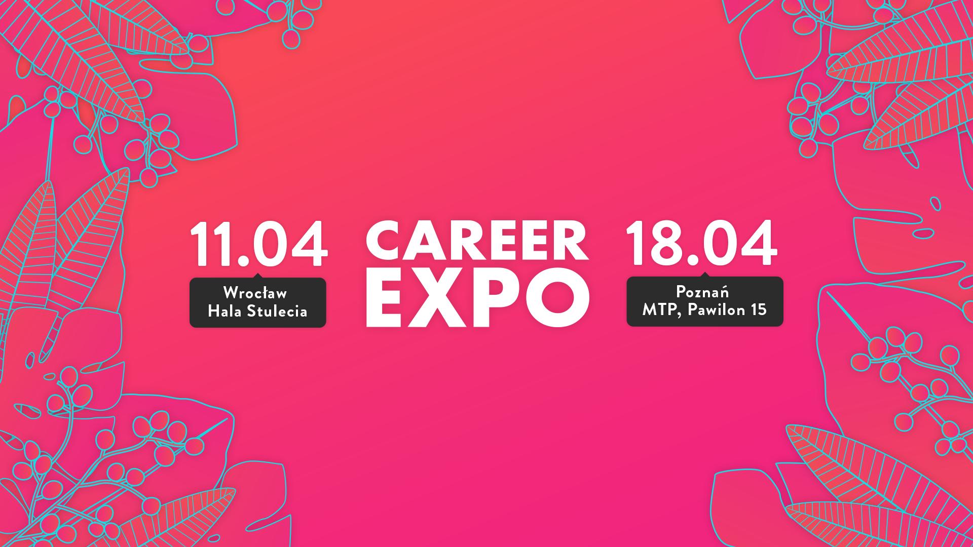 Wiosenne edycje targów pracy Career EXPO już wkrótce