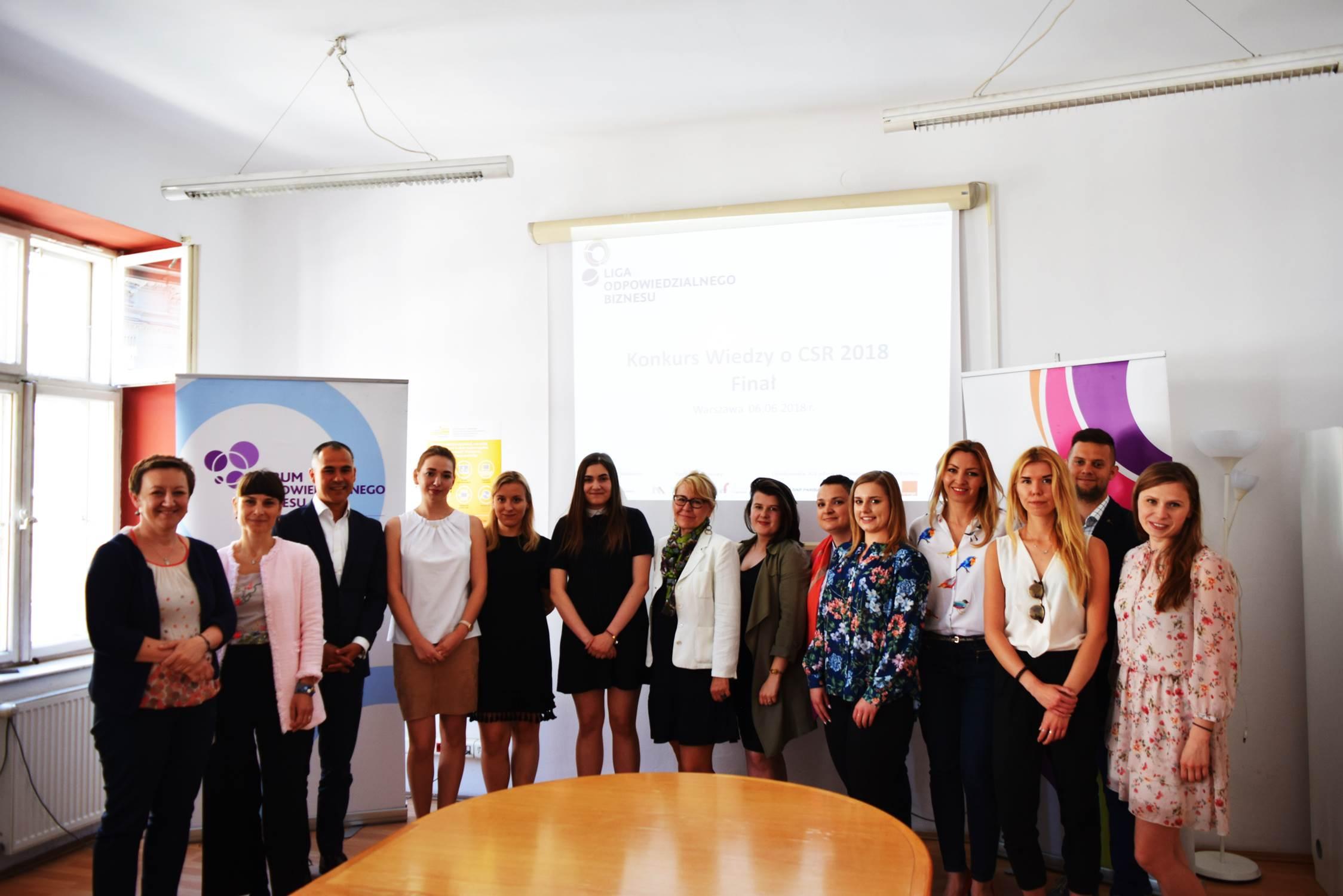 Znamy laureatów 7. edycji Ogólnopolskiego Konkursu wiedzy o CSR