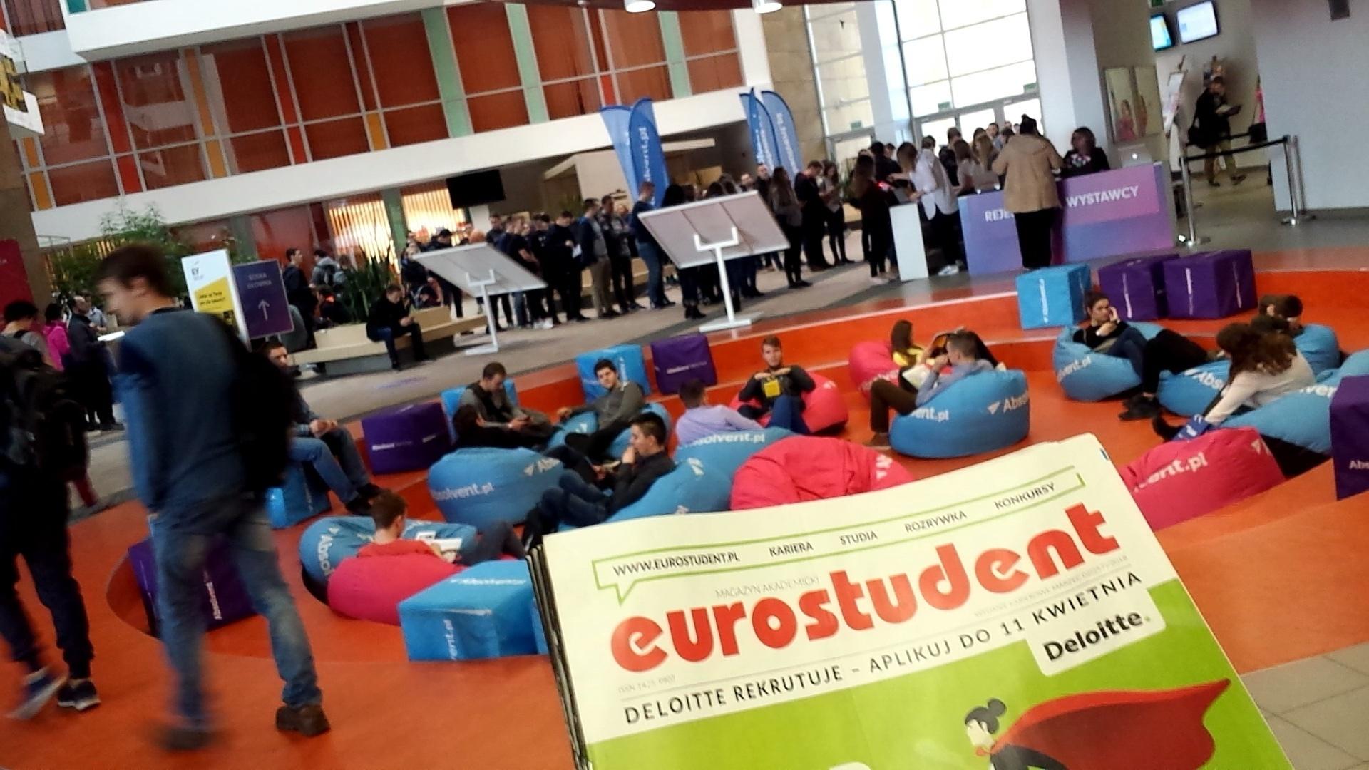 Jesienny kalendarz Targów Pracy z magazynem Eurostudent