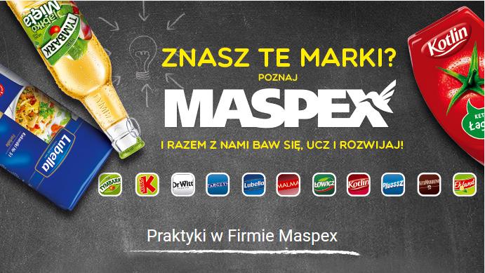 Aplikuj na PROGRAM PRAKTYK LETNICH W MASPEX