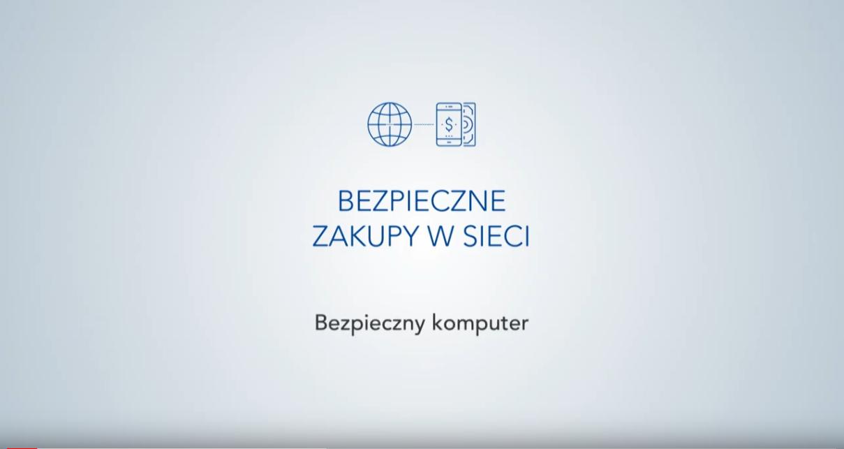 """Warszawski Instytut Bankowości, """"Bezpieczne zakupy w sieci"""" odc. 1 ‒ """"Bezpieczny komputer"""""""
