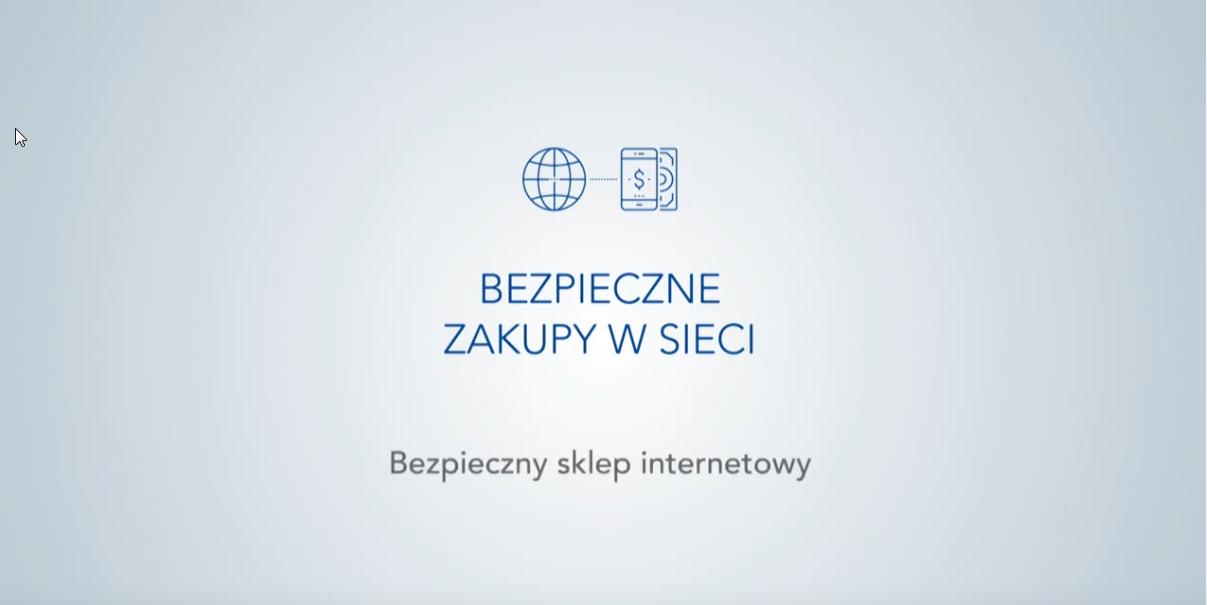 """Warszawski Instytut Bankowości, """"Bezpieczne zakupy w sieci"""" odc. 2 ‒ """"Bezpieczny sklep internetowy"""""""