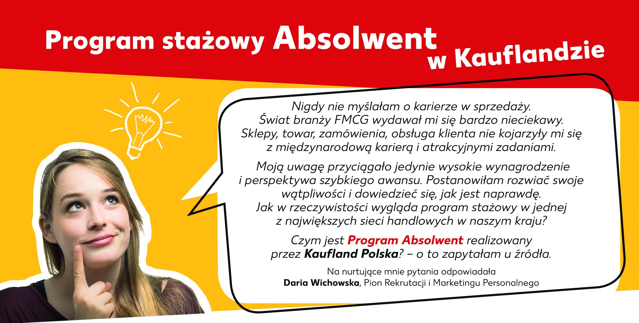 Program stażowy Absolwent w Kauflandzie