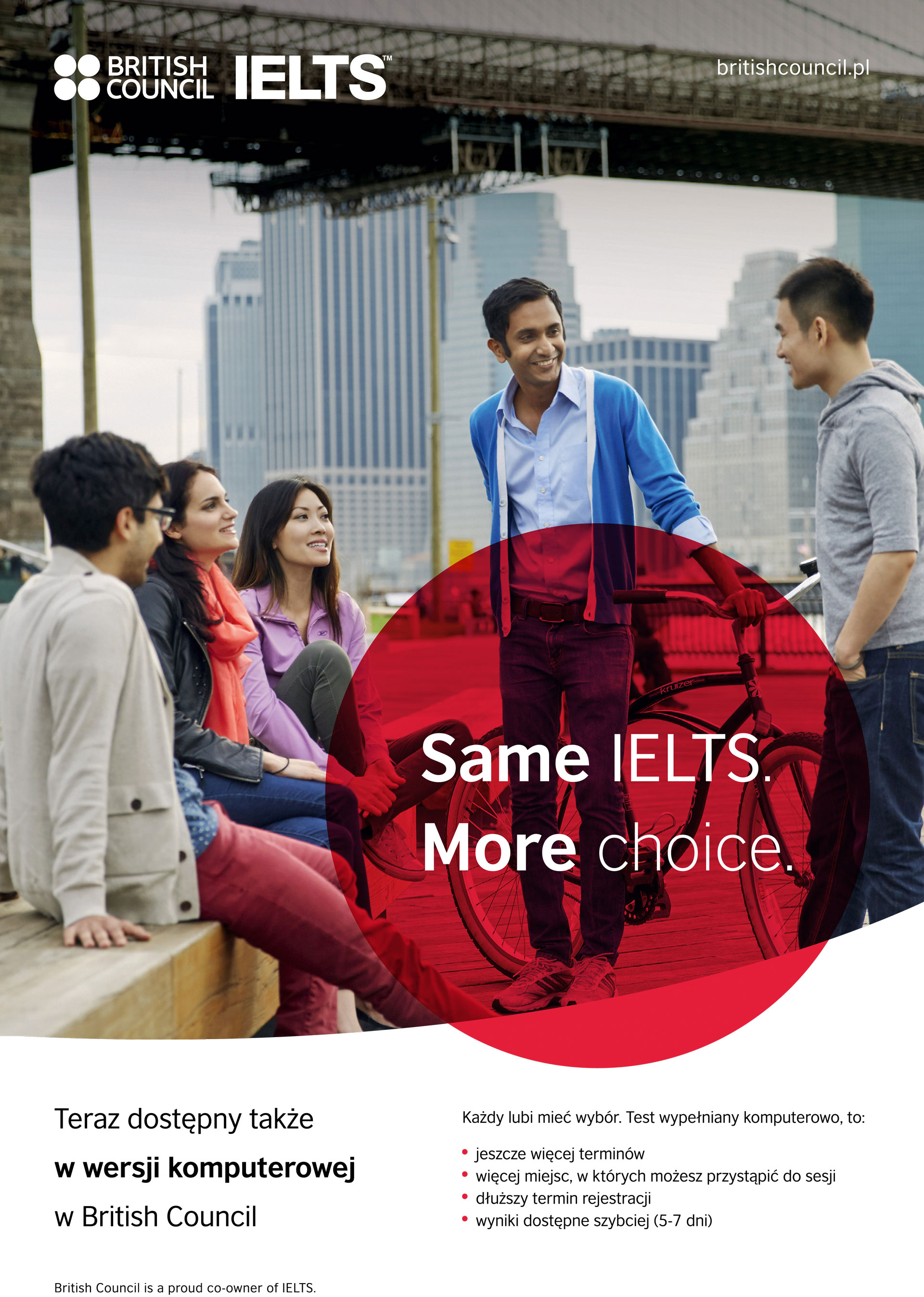 Zdaj test IELTS w British Council