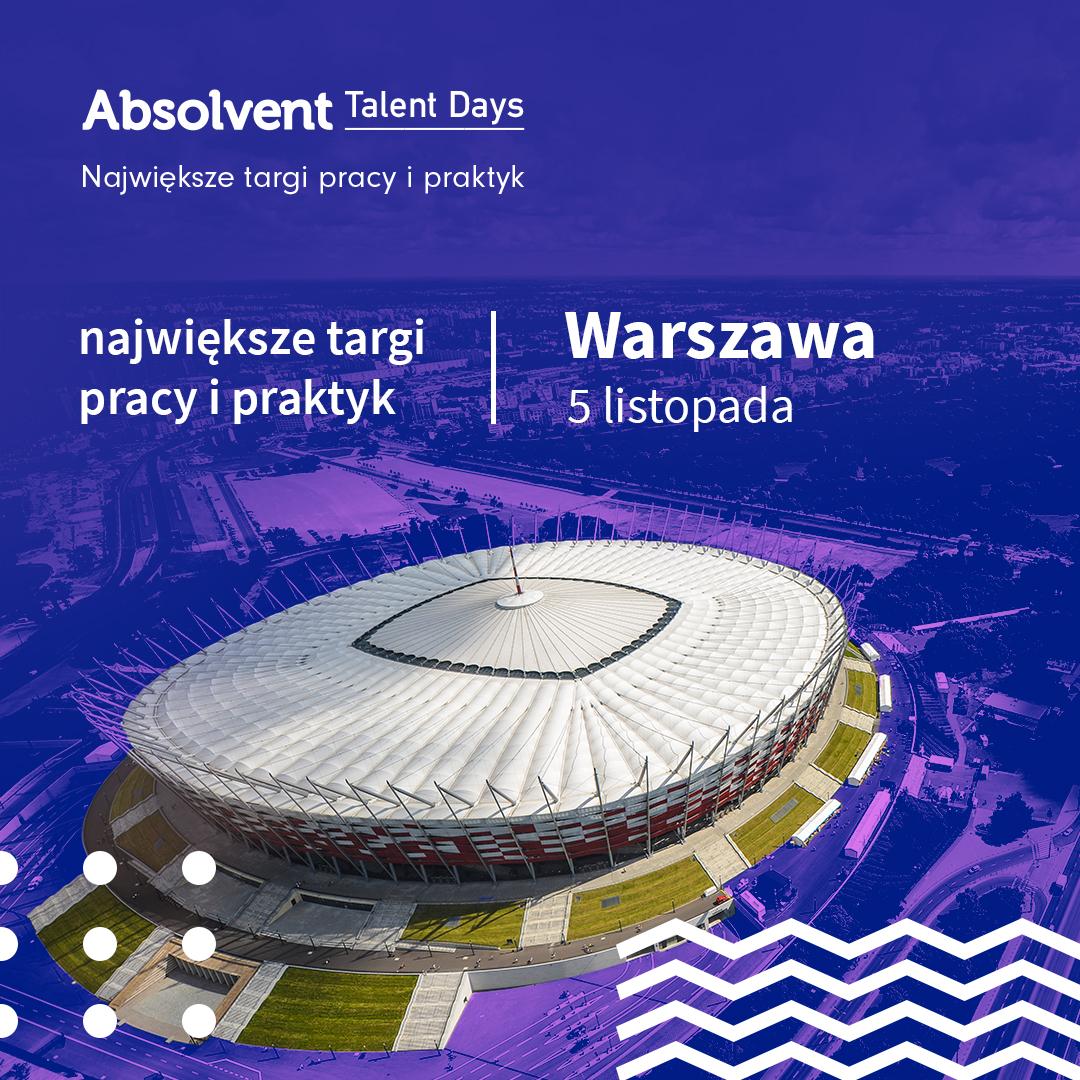 Absolvent Talent Days w Warszawie!