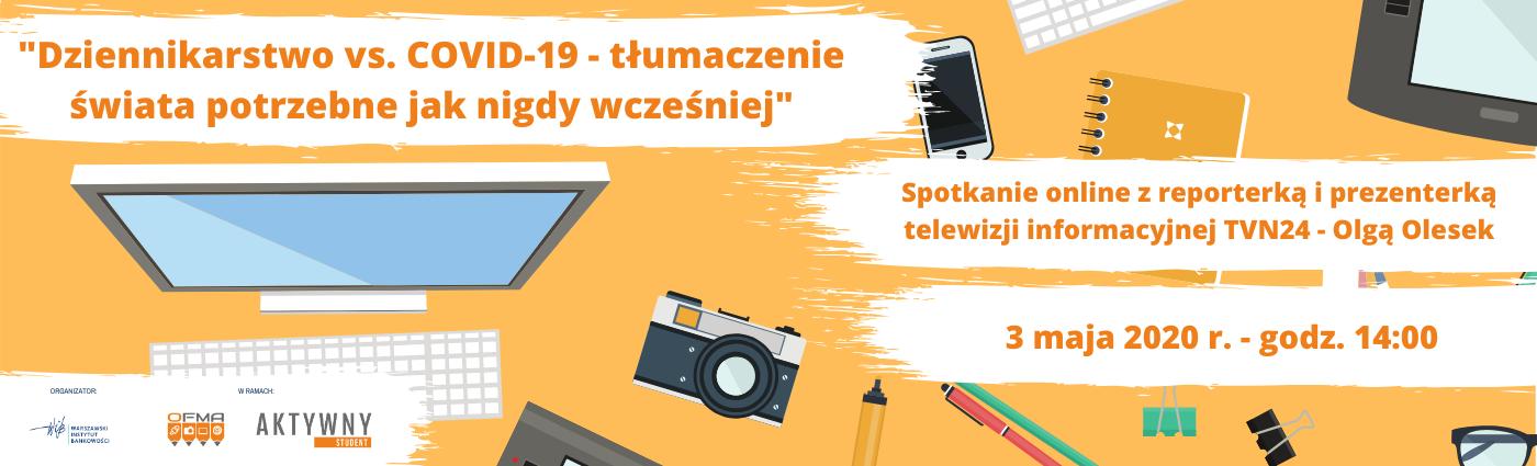 Spotkanie online dla dziennikarzy studenckich
