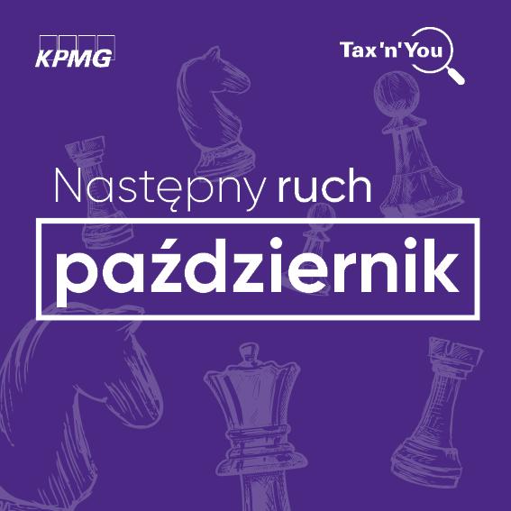 KPMG Poland przekłada konkurs Tax'n'You na październik 2020!