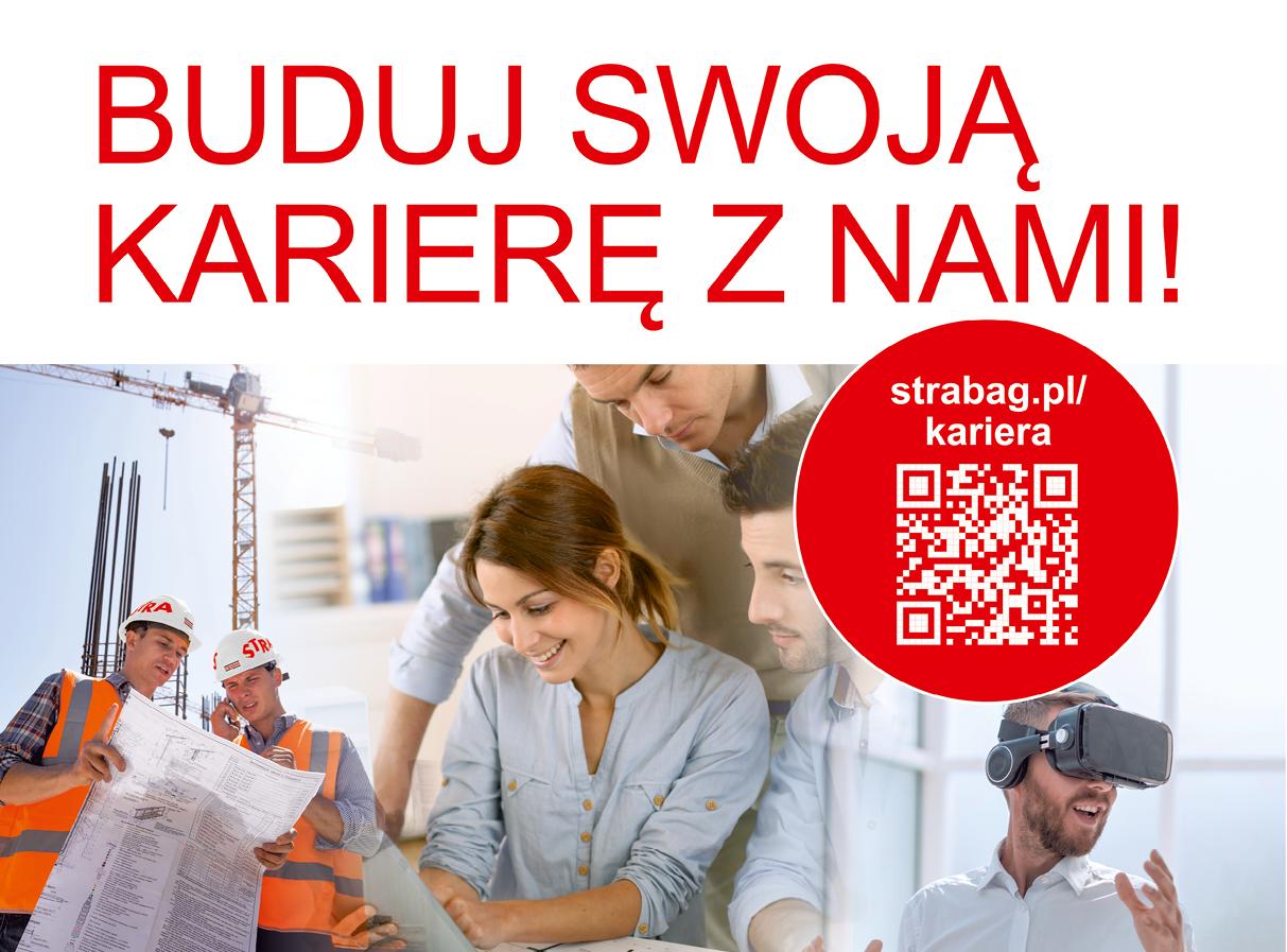 Buduj swoją karierę z nami! Strabag Polska
