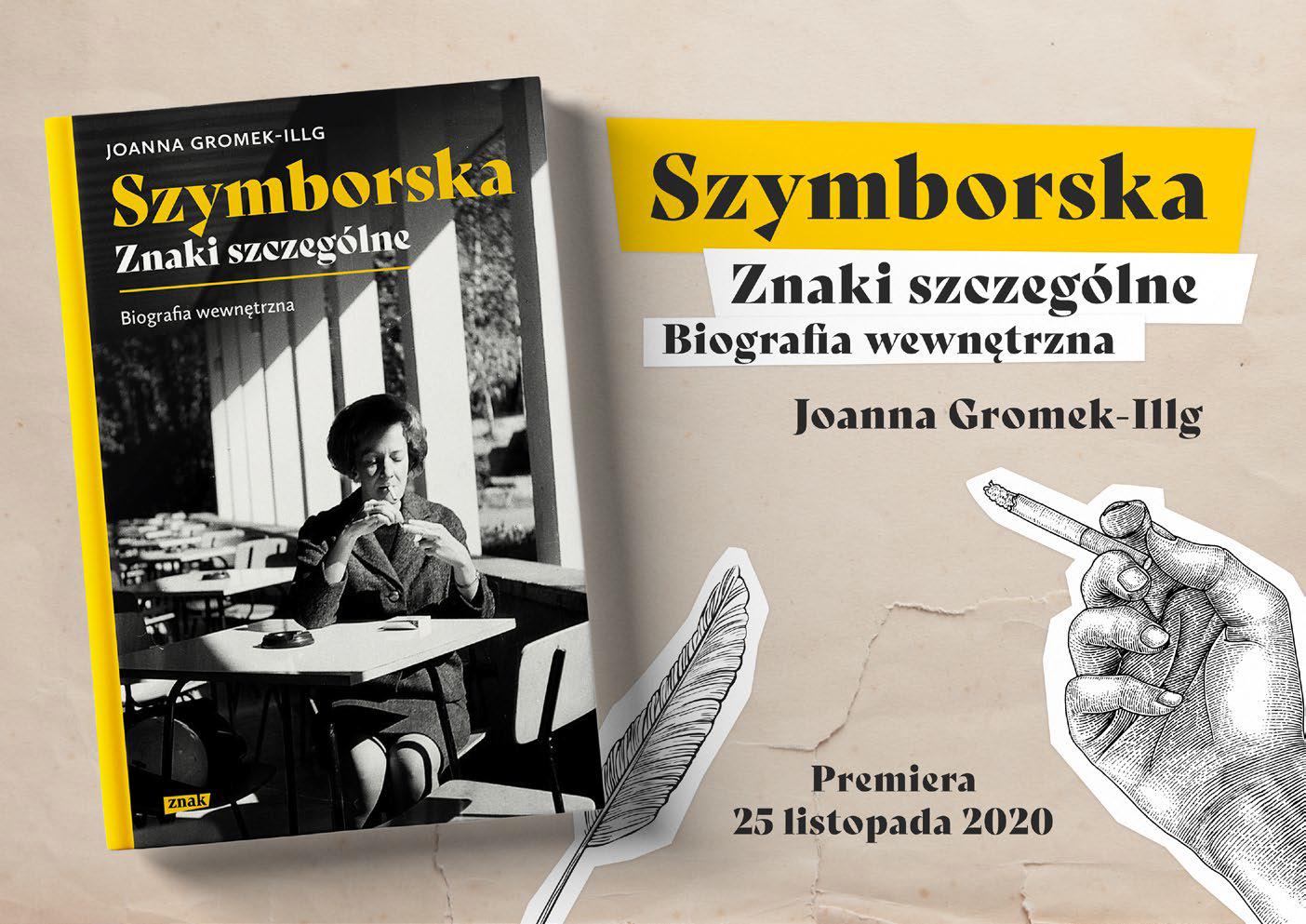 """""""Szymborska. Znaki szczególne. Biografia wewnętrzna"""" – do wygrania w świątecznym konkursie!"""