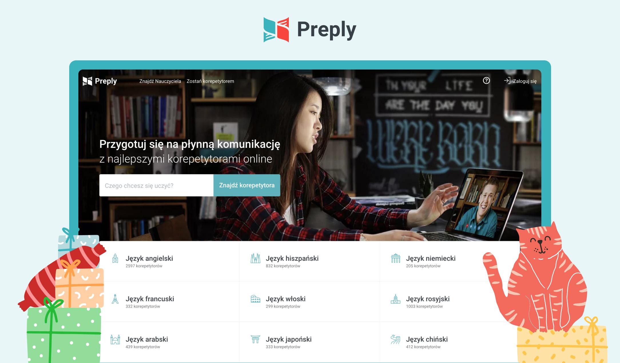 W te Święta, zainwestuj w swoją karierę z Preply!