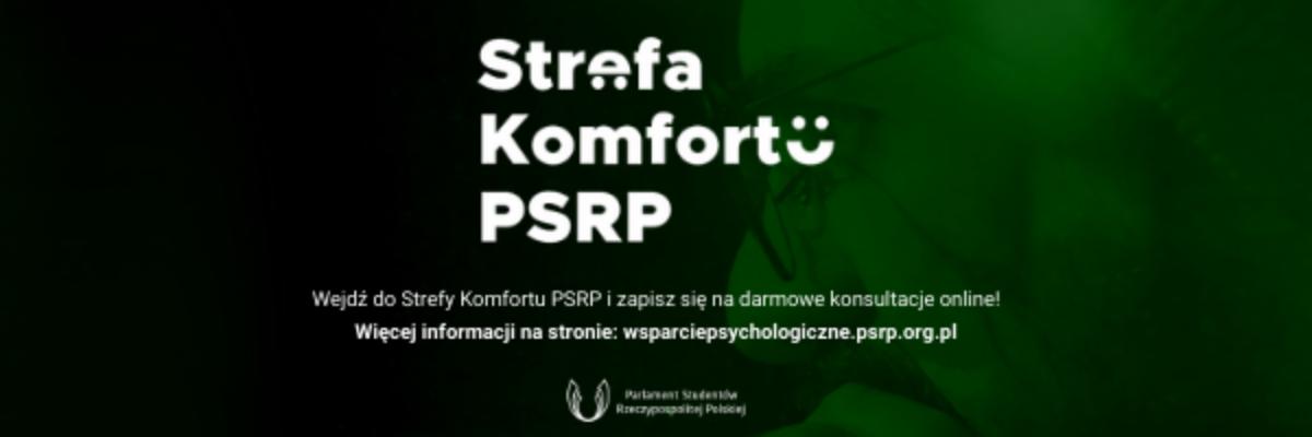 Strefa Komfortu PSRP działa dalej!